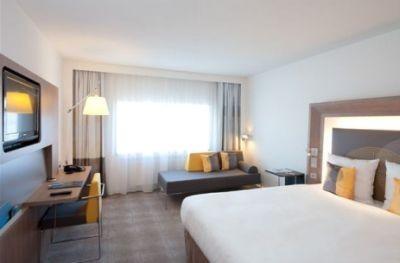 Gerenoveerde hotelkamer van Novotel World Forum Den Haag
