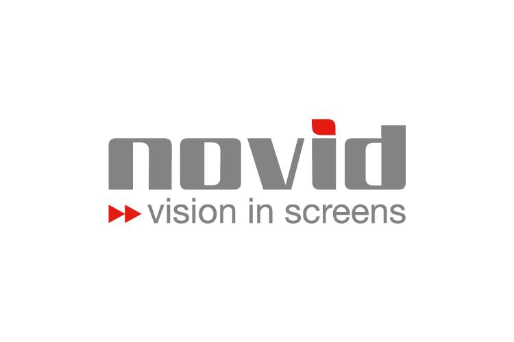 Novid - vision in screens logo