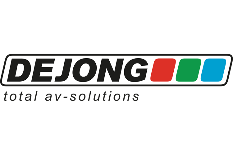 DEJONG total av-solutions logo