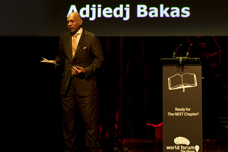 Adjiedj Bakas World Forum The Hague web