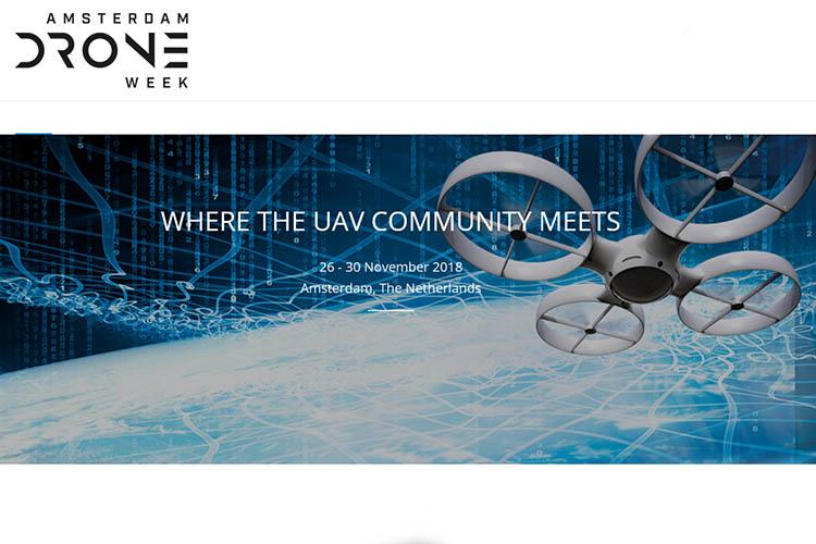 Amsterdam Drone Week RAI Amsterdam 2018