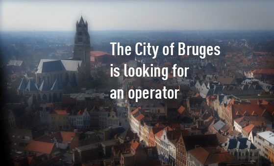 City of Bruges is looking for an operator for the congress and fair centre