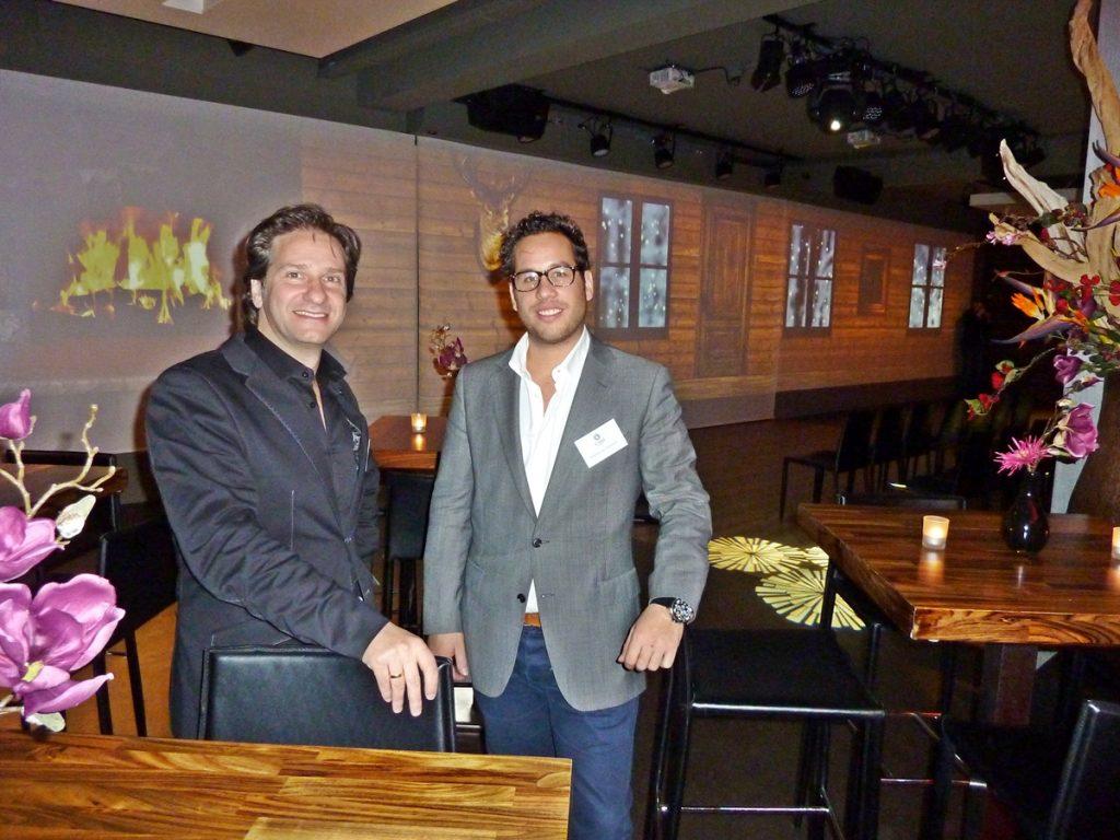 Citysense Utrecht : eigenaar Dimitri Chalos en locatiemanager Wesley van Dinteren