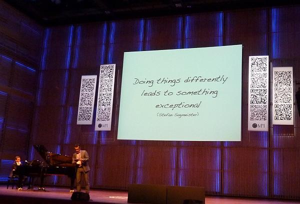 Hans Janssen tijdens NLconference 2011