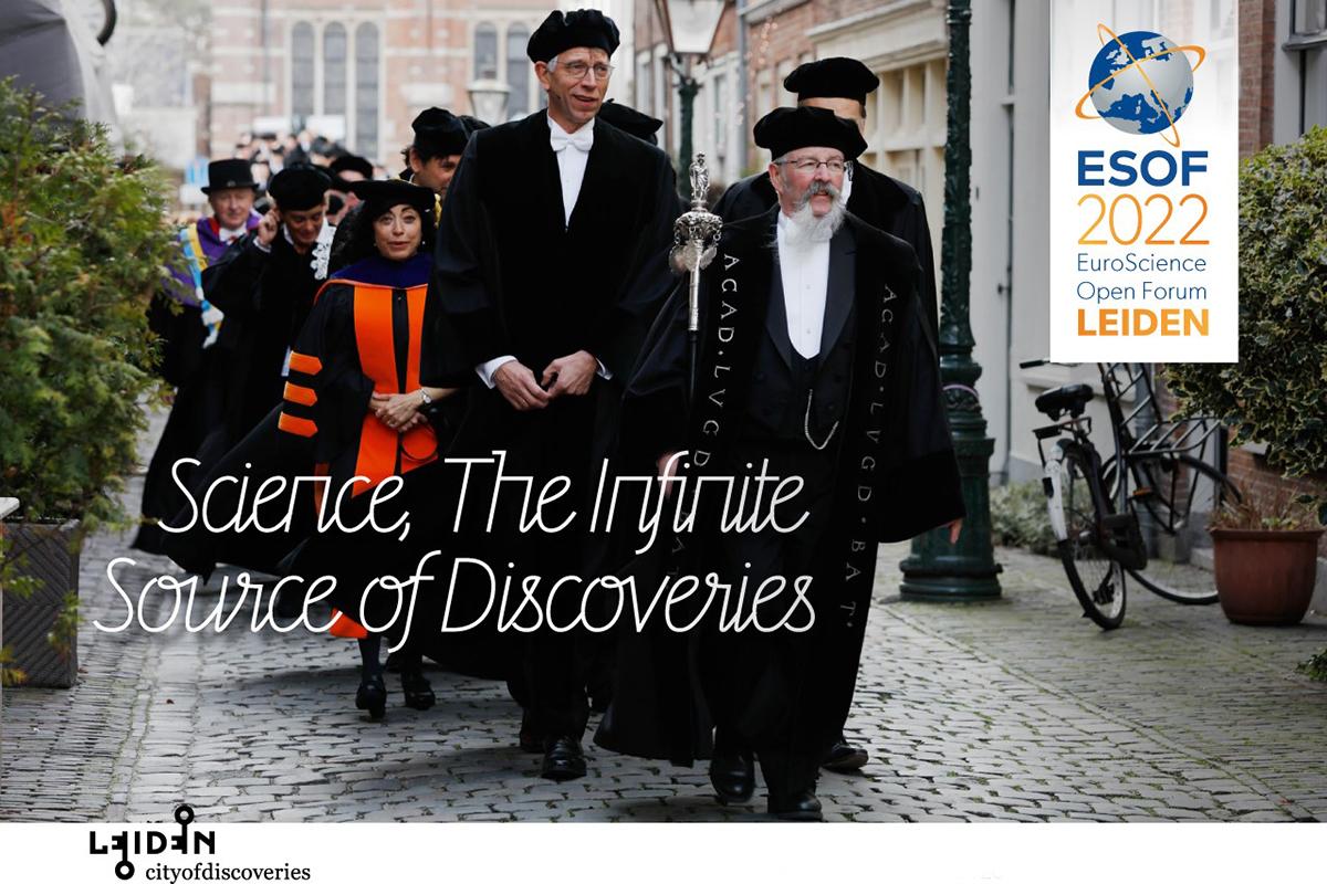 Leiden European City of Science in 2022