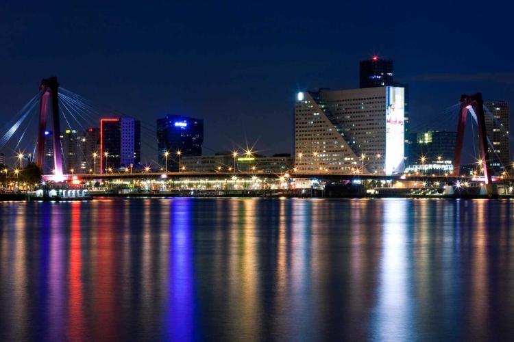 Rotterdam - Partners - record hotelovernachtingen- 2017