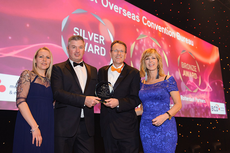 The Hague Convention Bureau wins Silver M&IT Award 2018