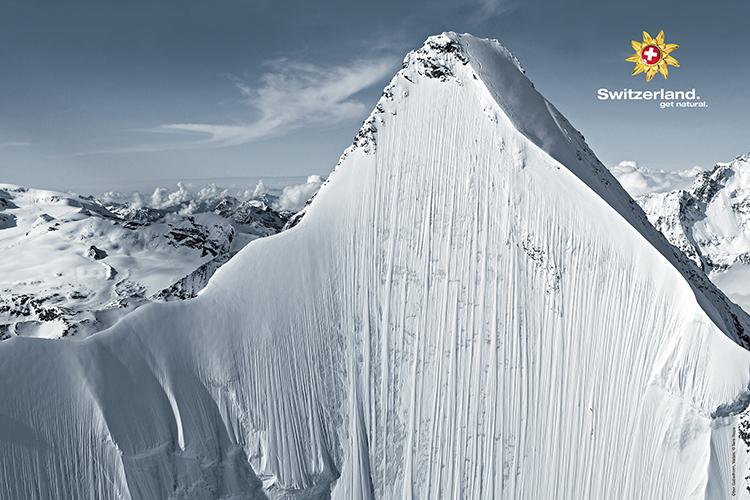 Poster, Winter, Obergabelhorn