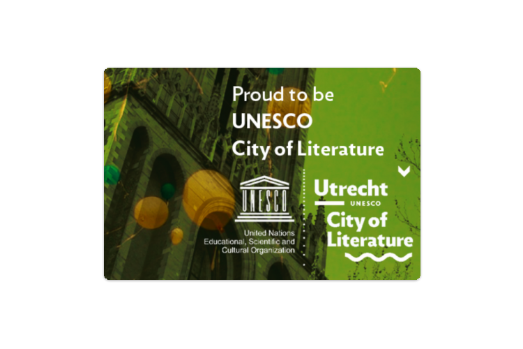 Utrecht benoemd tot UNESCO City of Literature