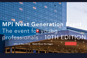 MPI Next Generation Event 2018
