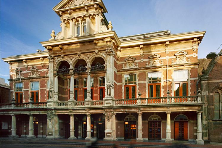 Leiden - Stadsgehoorzaal rondleiding