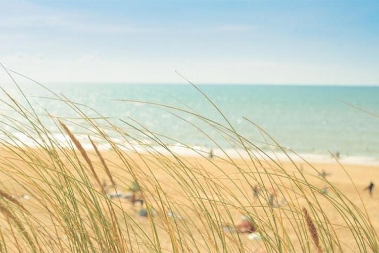 Strandhotel Westduin uitzicht op het strand