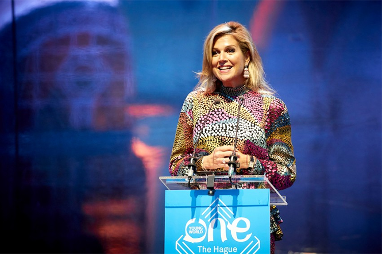 Koningin Maxima opent One Young World The Hague