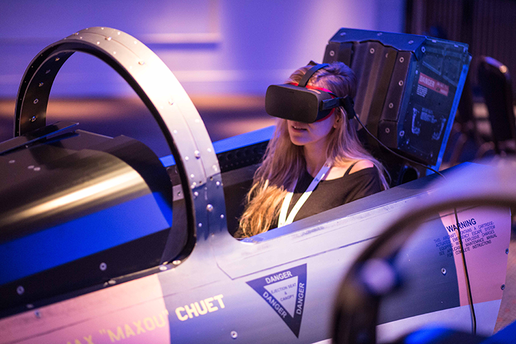 Mach 3 Flight Simulator to be seen at IBTM World 2018