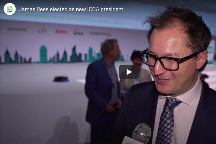 James Rees verkozen als ICCA-voorzitter