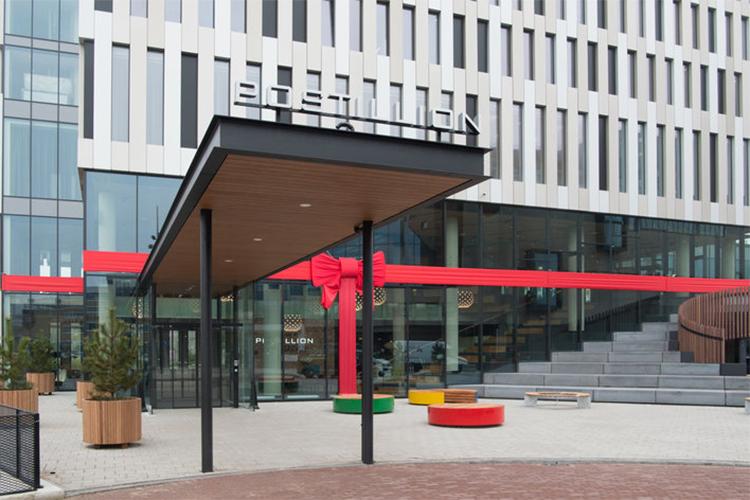 Openingsversiering Postillion Hotel Amsterdam