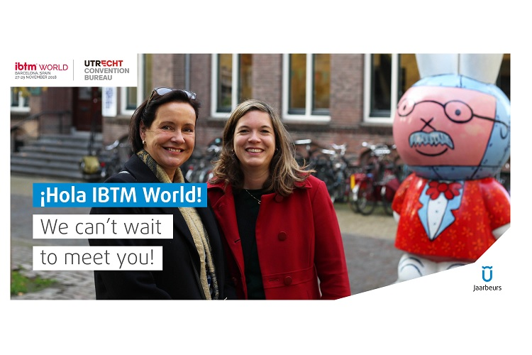Utrecht is ready for IBTM World 2018