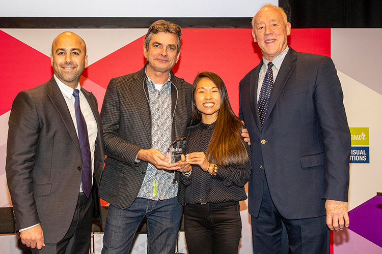 Zenus and Fielddrive winners of IBTM World Tech Watch Award