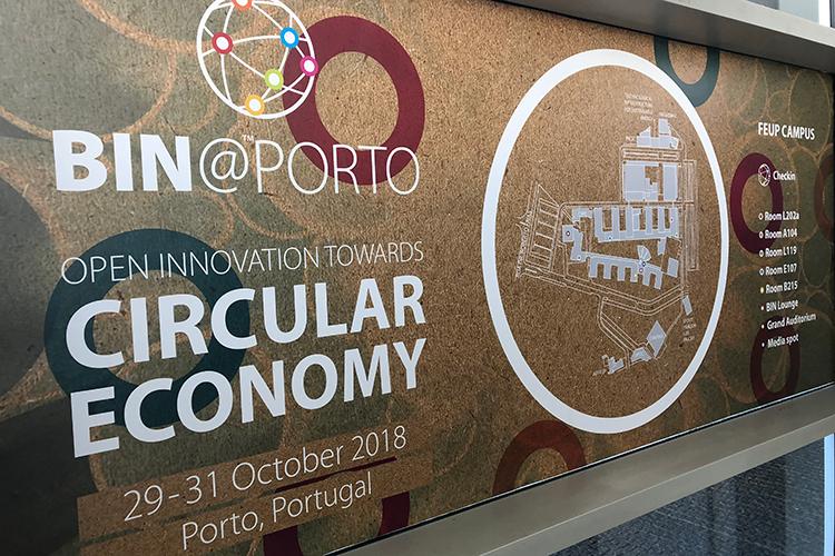 Bin@Porto circulair economy university conference
