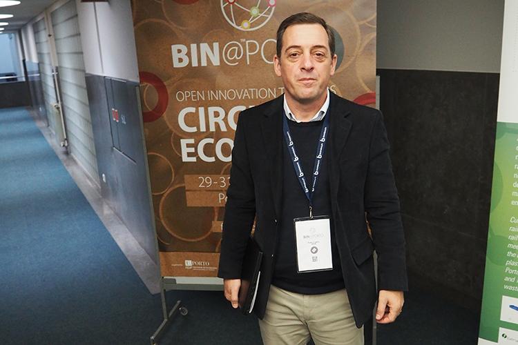 Bin@Porto organiser Pedro Coelho