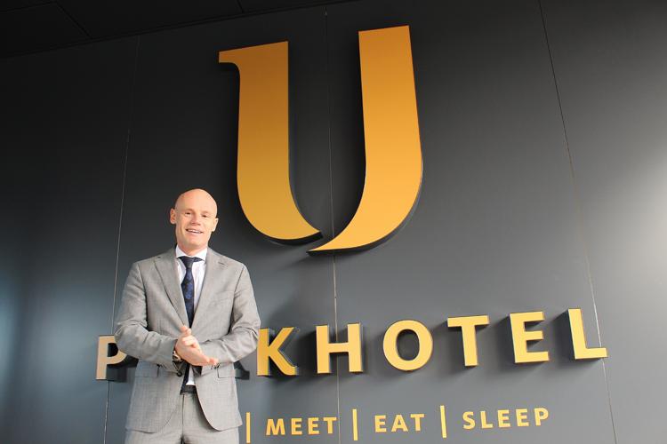 Niels Hoek nieuwe sales manager U Parkhotel