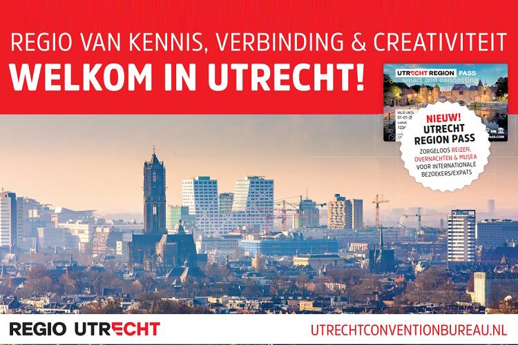 Utrecht Region vertegenwoordigd op EventSummit 2019