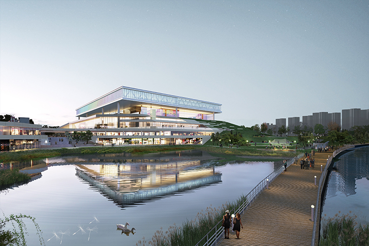 Suwon Convention Center Korea