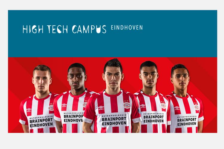 Brainport Eindhoven shirtsponsor PSV