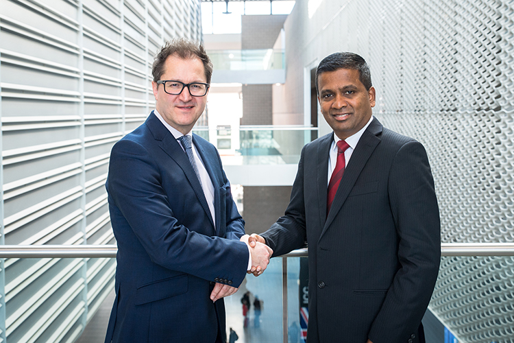 ICCA President James Rees and new ICCA CEO Senthil Gopinath