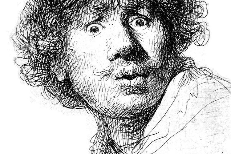 Leiden stad van Rembrandt