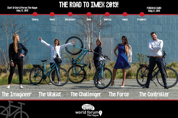 World Forum The Hague bikes more than 500 kilometers for a safer and more vital world