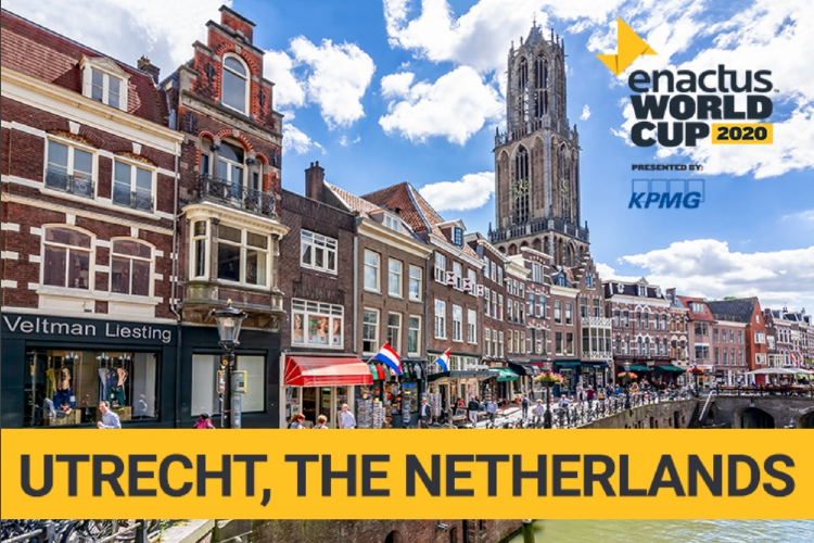 ENACTUS World Cup 2020, Utrecht The Netherlands