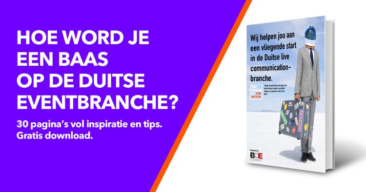 Gratis handboek-Hoe word je een baas op de Duitse eventbranche