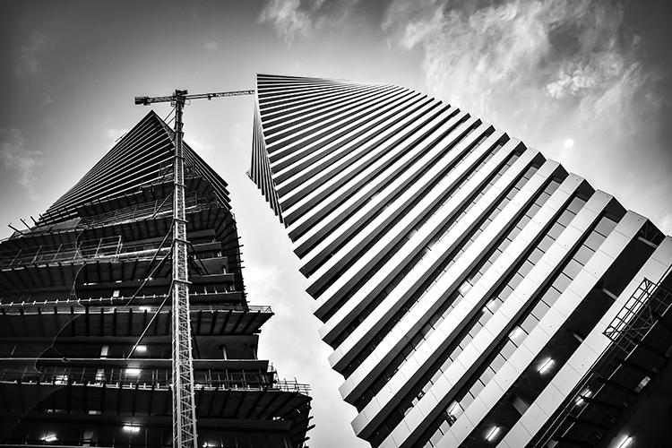 Hotels in aanbouw