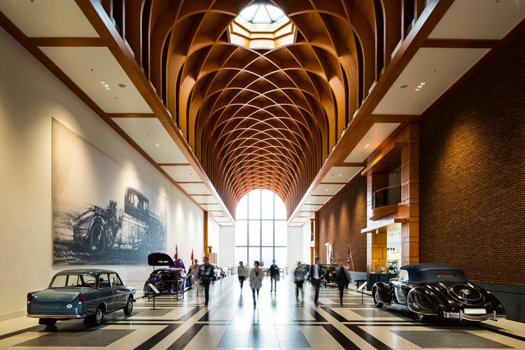 Louwman museum Great hall