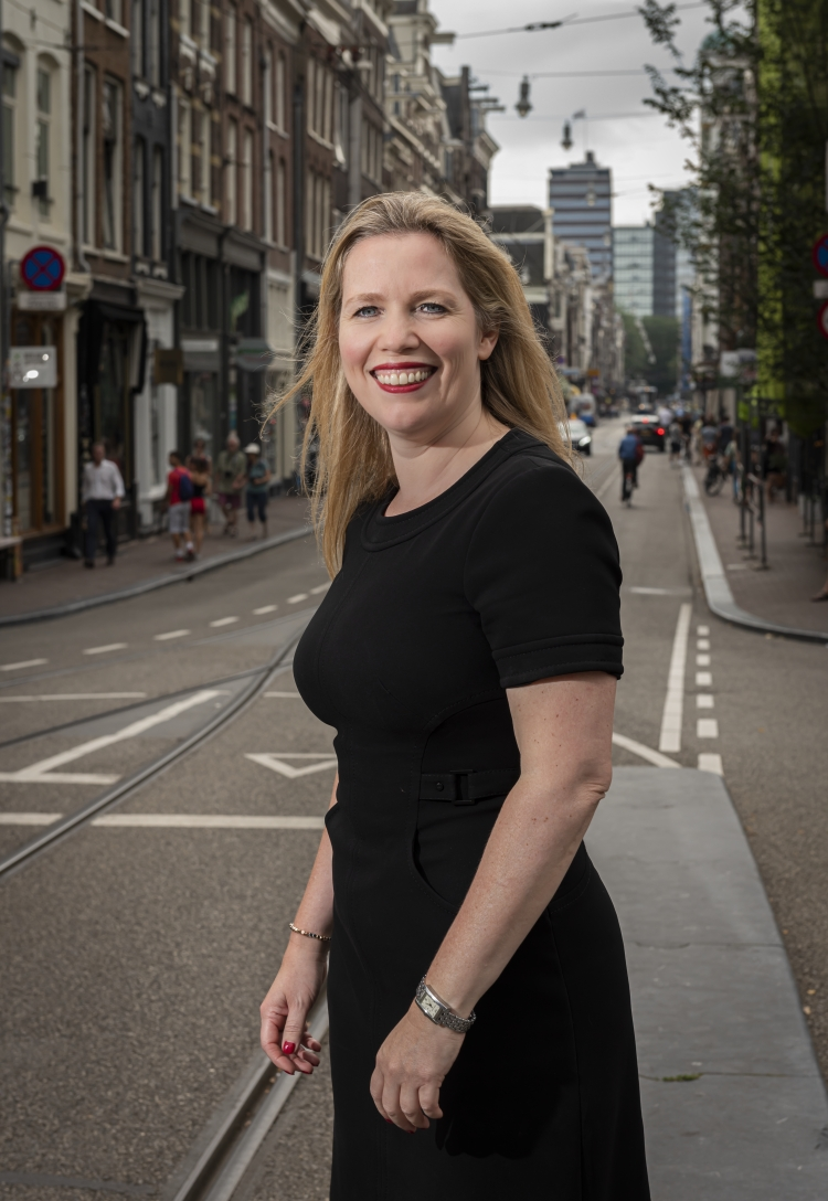 Barbara Roijé in Amsterdam