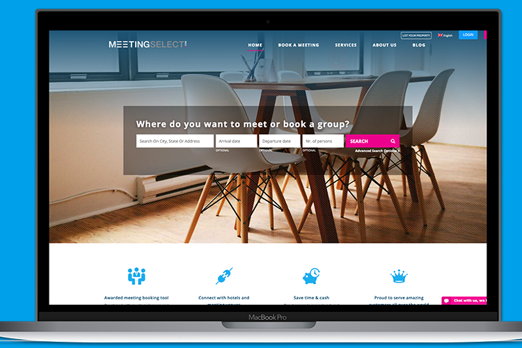 Meetingselect website