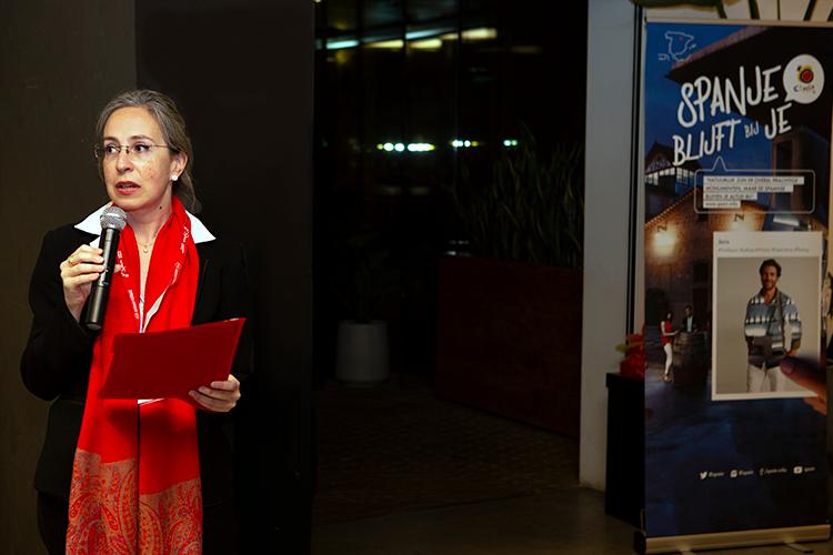 María Angeles Martínez directeur van het Spaans Verkeersbureau in Den Haag