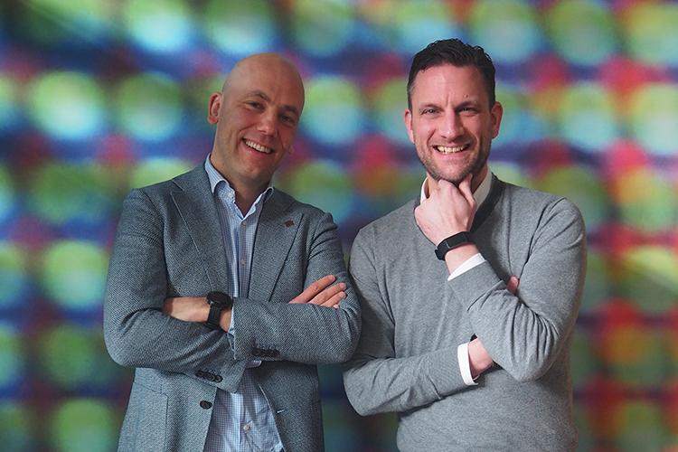 Nieuwe MPI-voorzitter Thijs Peters en vertrekkend MPI-directeur Gijs Verbeek