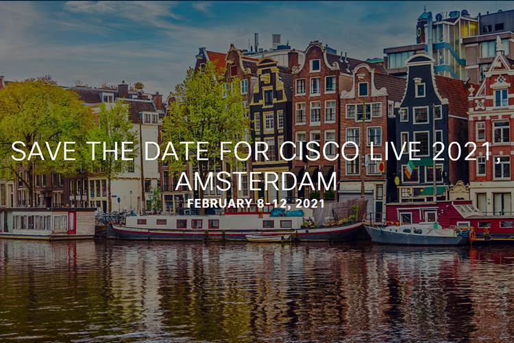 Cisco Live 2021 Amsterdam