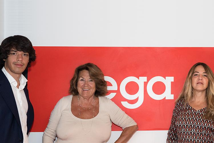 Three generations of Ega Worldwide
