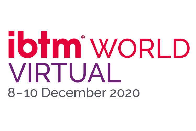 IBTM World Virtual 2020 Logo