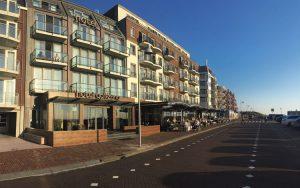 Strandhotel Golfzang vooraanzicht