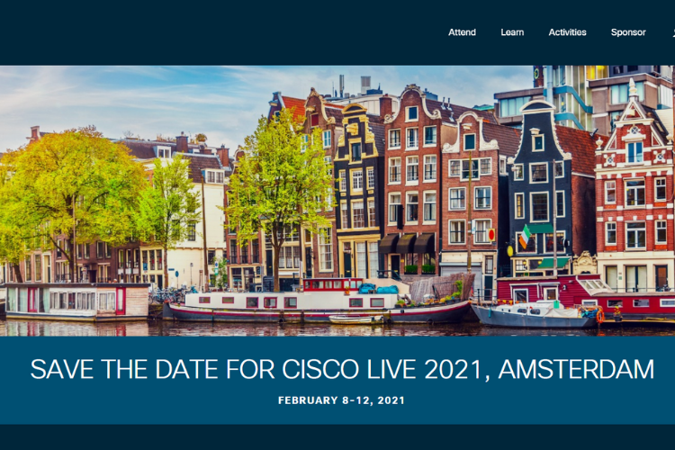 Cisco Live Europe 2021 Amsterdam