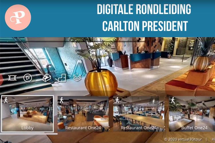 Digitale Rondleiding Carlton President