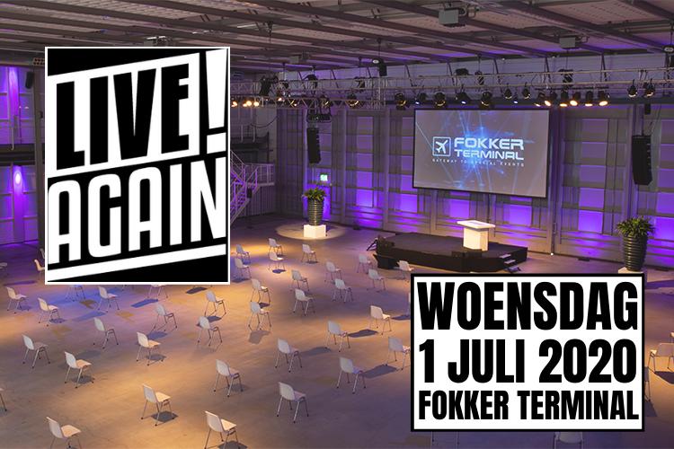 Live Again! Anderhalvemetercongres in Fokker Terminal