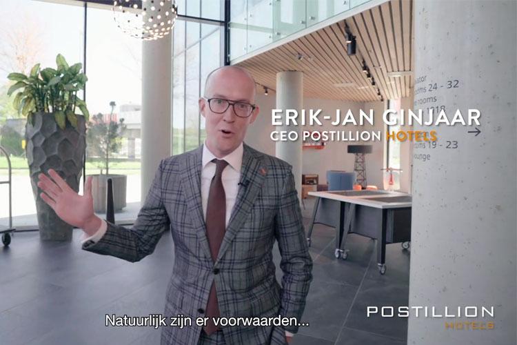 Erik-Jan Ginjaar Postillion Hotels opening na Corona