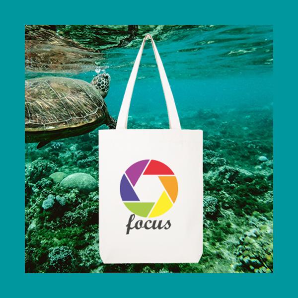 Oceaan Plastic Shoppertas (SEAQUAL)