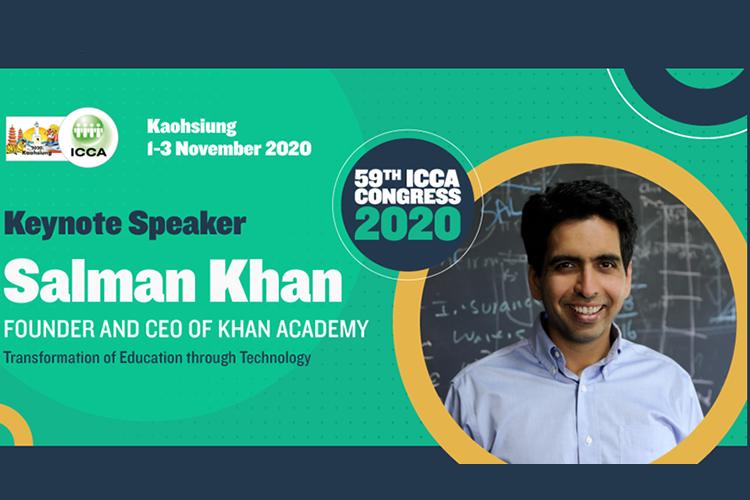 Salman Khan keynote speaker ICCA congress 2020