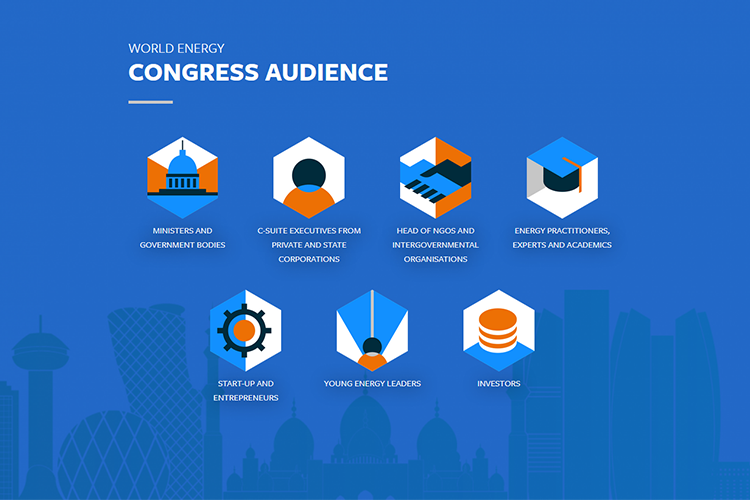 World Energy Congress infographic Congress audience